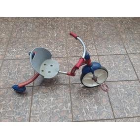 Velotrol /triciclo-radio Flyer Para Crianças De Até 7 Anos