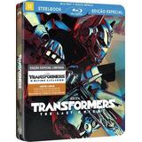 Blu-ray Steelbook Transformers O Último Cavaleiro - Lacrado
