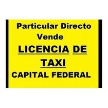 Licencia De Taxi 2006 A 2016 (cr)