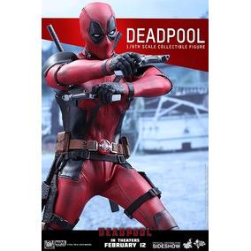 Hot Toys Deadpool 1/6 Lote Americano! Em Estoque No Brasil!