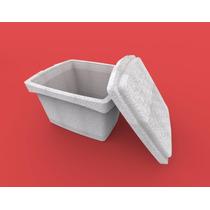 Hielera Contenedor Caja Reutilizable De Unicel (nieve Seca)