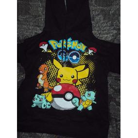 Sudadera Pokemon Con Capucha Pikachu Square Talla G De Niño