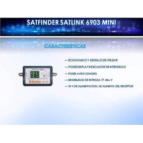 Satfinder Caza Satelites Satlink Receptor Satelital Moron