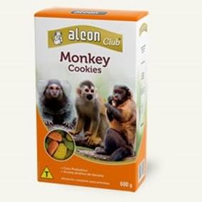 Ração Alimento P/ Macaco Sagui Prego E Outros Alcon Monkey