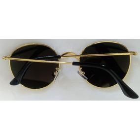 Oculos Redondo 4,5 Cm Secret - Óculos De Sol Sem lente polarizada no ... ec75fe15de