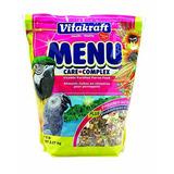 Vitakraft Menú Vitamina Fortificada Loro Alimentos, 5 Lb.