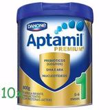 Aptamil 1 800g Premium Kit Com 10 Uni - Pronta Entrega
