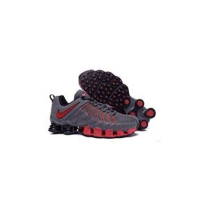 Tenis Nike 12 Molas Preto Com Prata Outros Modelos - Tênis no ... ad31fb4451a21