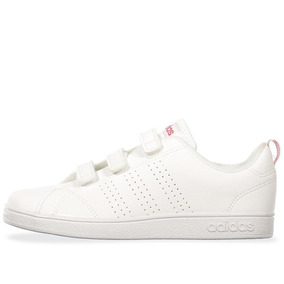 Tenis adidas Advantage K - Bb9978 - Blanco - Niña