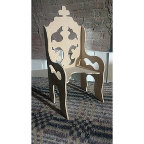 Sillas de madera para ni o dios en mercado libre m xico for Sillas para nino dios