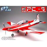Aeromodelo Eletrico Pilatus Pc9 Rtf Completo Arttech