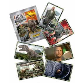 Figurita Panini Jurassic World 2 2018 Chacarita R Escalada