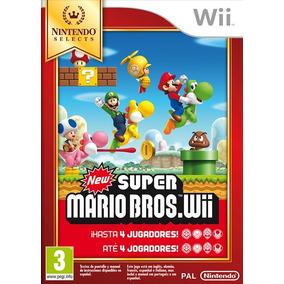 Wii Juego New Super Mario Bros Impecable