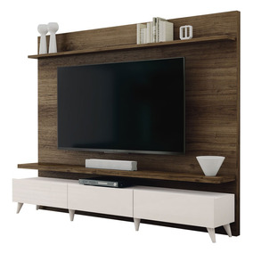 Home Theater Boss Imbuia Com Off White 2.2 - Imcal