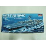 Barco Academy P/armar Uss Nimitz 1/800 Kit 14213