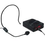 Kit Amplificador De Voz Megafone Microfone Para Professores