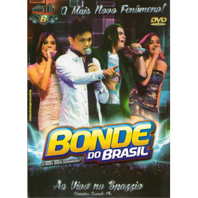 Dvd Bonde Do Brasil No Spazzio - Pb Original