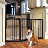 Reja Barandal Madera Perro Plegable Animal Planet 160x76.2cm