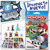 Monopoly Gamer Power Pack Luigi Diddy Kong