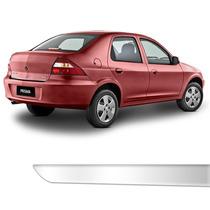 Friso Porta Malas Chevrolet Prisma Até 2012 Cromado Resinado