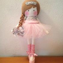Muñecas De Trapo Bailarinas Con Tutu Princesas Disney