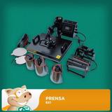 Kit Sublimação - Prensa 8x1 + Impressora L120+camisa+caneca