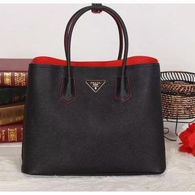 Bolsa Prada Original Double Bag Em Couro Frete Gratis