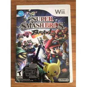 Jogo Super Smash Bros. Brawl Wii Completo