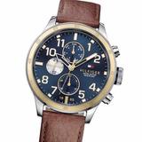 Reloj Tommy Hilfiger Th 1791137 Acero Multifunción 50m Wr