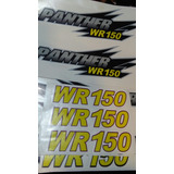Kit De Calcos Panther Wr150,r110,wr110,wr250,wr200,r200