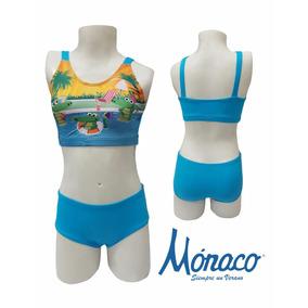 Vestido De Baño Mónaco Niña Ref:n609 Talla 6