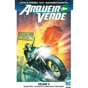 Arqueiro Verde Renascimento 4 Panini Comics Novo Lacrado