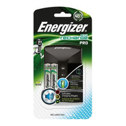 Cargador Aa, Aaa Energizer Pro  Recargable Incluye 2 Aa