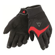 Guantes Touring Dainese Desert Poon D1 Unisex Negro Rojo