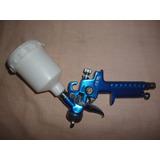 Pistola De Pintar Por Gravedad Tanque Plastico 80 Cc