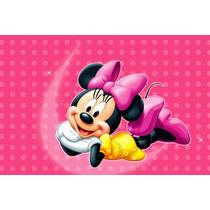 Painel Decorativo Festa Infantil Disney Minnie Mouse (mod5)