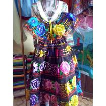 Vestido De Chiapaneca Para Niña
