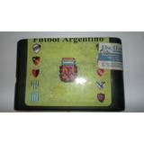 Cartucho Sega Futbol Argentino