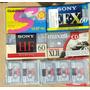 Lote Casettes De Audio Caset Sony Otras Periodista Reportero