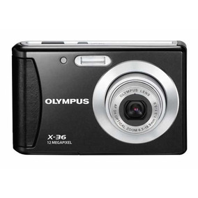 Camera Fotografica Digital Olympus X-36 / T-100 Preta 12 Mp