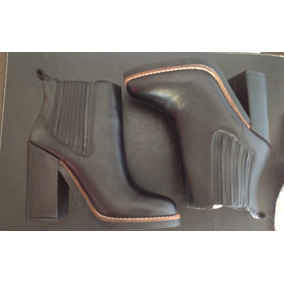 Botas Mujer Cuero Forever 21 Talle 36