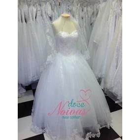 Vestido Noiva Tomara Que Caia G Pronta Entrega Ganhe Véu