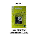 Bateria Pila Motorola Bc60 Nueva 100% Original En Blister