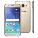 Celular Smartphone Samsung Galaxy J5 Dourado 16gb Frontal5mp