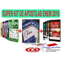 Kit De Apostilas Enem E Vestibular - Envio Digital