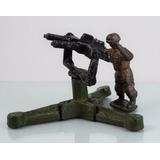 Antiguo Soldado De Plomo Cor Arma Mambru Años 50 #36