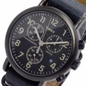 Reloj Timex Weekender Tw2p62200 Correa Piel