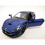 Miniatura 2016 Maserati Granturismo Mc Stradale Azul 1:38