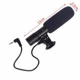 Microfone Condensador Stereo Shotgun Multimarcas