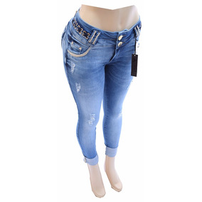 Calça Jeans Afront Estilo Pit Bull C Bojo Removivel Ref R01